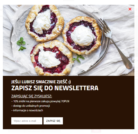 Pole na stole newsletter