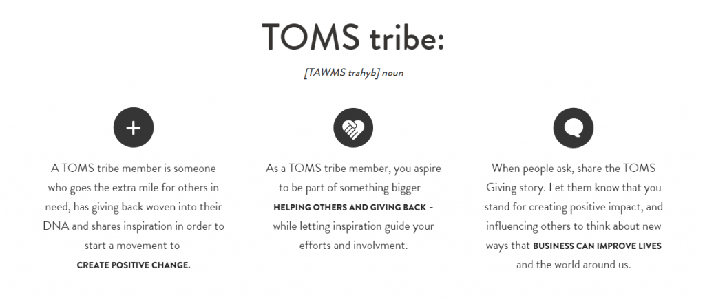 toms tribe
