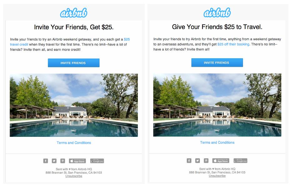 Kampania mailingowa Airbnb