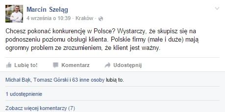 Wpis Marcina Szeląga
