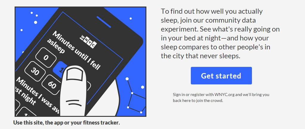 track your sleep